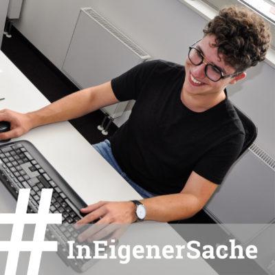 Eine Bereicherung für unser Team:  Seit Mitte September 2019 absolviert Max Schaber eine Einstiegsqualifizierung (EQ). Als Praktikum zur Berufsorientierung wird er sich bei uns bis Sommer 2020 auf sein Studium vorbereiten. Wir freuen uns über die gemeinsame Zeit!