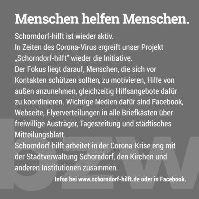 Kampagne - Schorndorf Hilft